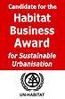 Show UN-Habitat Business Award certificate